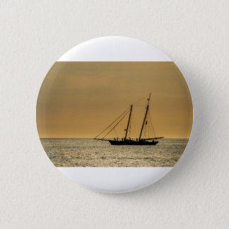 Badge Grand voilier marchand sur la mer baltique