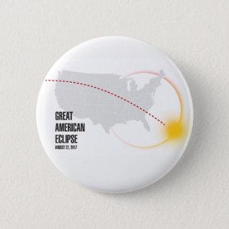 Badge Grande éclipse solaire américaine 2017