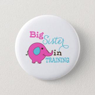 Badge Grande soeur dans l'éléphant de formation