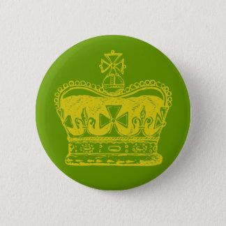 Badge Graphique royal de couronne