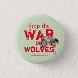 """Badge """"Guerre bouton sur loups"""""""