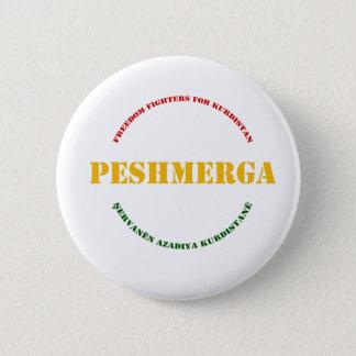Badge Guerrier de liberté de Peshmerga du KURDISTAN