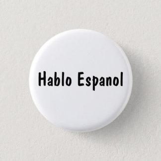 Badge Hablo Espanol