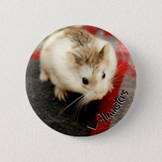Badge Hammyville - hamster mignon