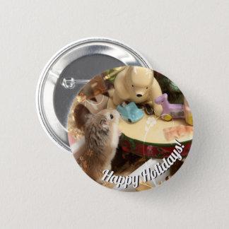 Badge Hammyville - vacances de hamster