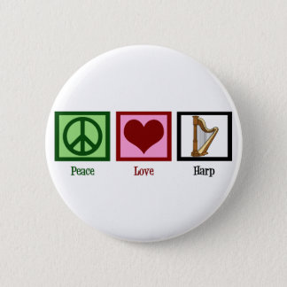Badge Harpe d'amour de paix