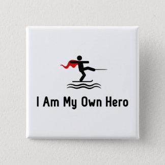 Badge Héros de ski nautique