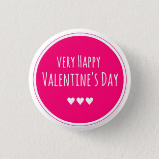 Badge Heureuse Sainte-Valentin