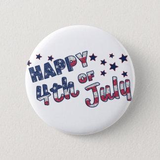 Badge Heureux 4 juillet