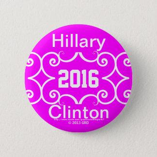 BADGE HILLARY CLINTON 2016