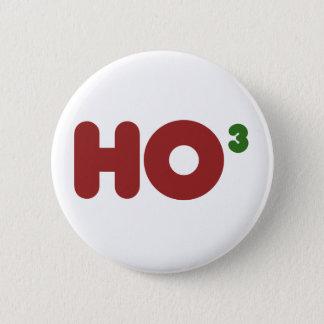 Badge Ho Noël 3 drôle ringard