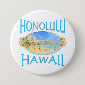 Badge Honolulu Hawaï