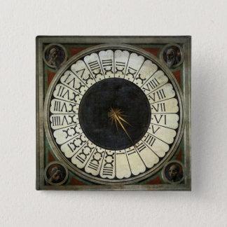 Badge Horloge dans le Duomo par Paolo Uccello