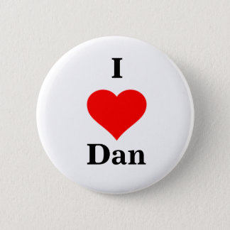 Badge I bouton de Dan de coeur