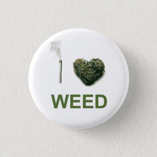 Badge I mauvaise herbe de coeur