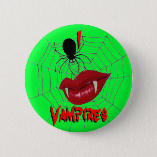 Badge I vampires de coeur {vert de chaux}