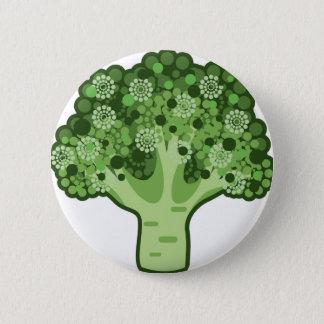 Badge Icône de vecteur de brocoli
