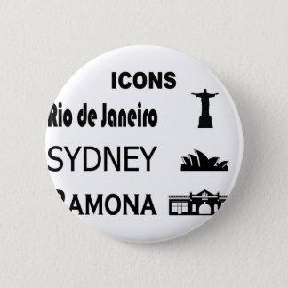 Badge Icône-Rio-Sidney