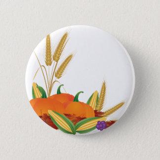 Badge Illustration de récolte de chute