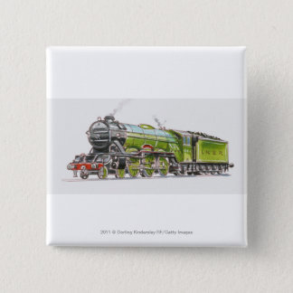Badge Illustration du train de Scotsman de vol
