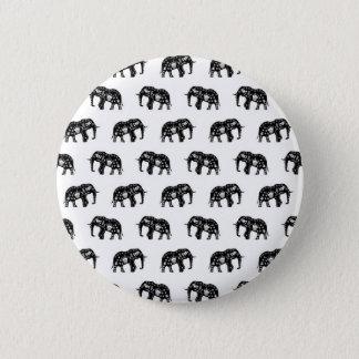 Badge Image fraîche d'éléphant de motif de l'Afrique