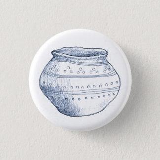 Badge Insigne archéologique d'urne de fragments