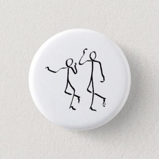 Badge Insigne avec deux danseurs de Charleston