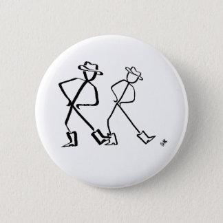 Badge Insigne avec la ligne danseurs