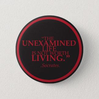 Badge Insigne avec une citation signicative