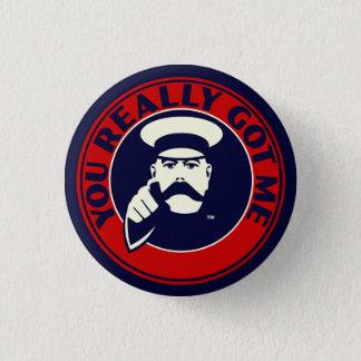 """Badge Insigne de bouton de mod. Les replis """"vous m'avez"""