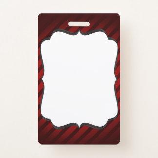 Badge Insigne décoratif ou carte d'identification