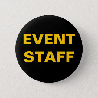 Badge Insigne d'identification de PERSONNEL d'ÉVÉNEMENT