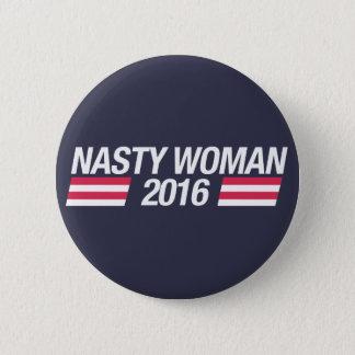 Badge Insigne méchant de goupille de femme
