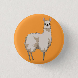 Badge Insigne orange de lama
