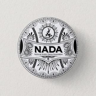 "BADGE INSIGNE ROND DU STYLE ORIENTAL 1,25 DE NADA"""