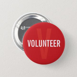 Badge Insigne volontaire de rouge