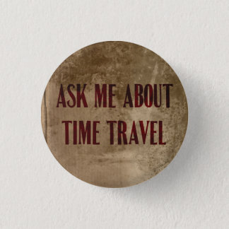 Badge Interrogez-moi au sujet du bouton de voyage de