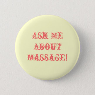 Badge Interrogez-moi au sujet du massage !