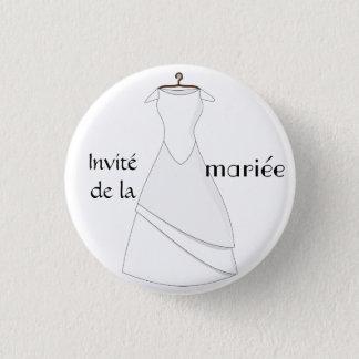 Badge invité de la mariée