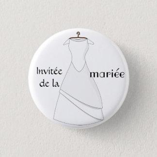 Badge invitée de la mariée