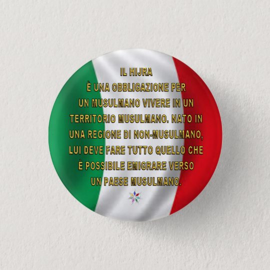 Badge ITALIA HIJRA