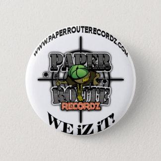 Badge Itinéraire Recordz - nous de livre blanc iZ il !