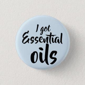 Badge j'ai obtenu les huiles essentielles