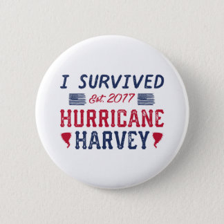 Badge J'ai survécu à l'ouragan Harvey