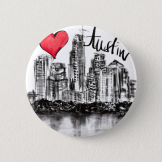 Badge J'aime Austin