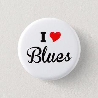 Badge J'aime des bleus, polaires