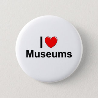 Badge J'aime des musées de coeur