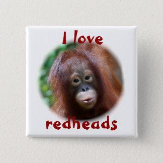 Badge J'aime des roux