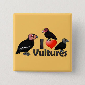 Badge J'aime des vautours (Amérique du Nord)