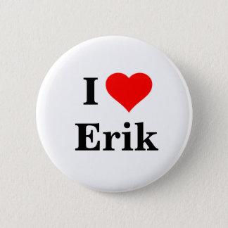 Badge J'aime le bouton d'Erik